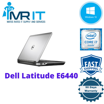 Dell Latitude E6440, Intel Core i7-4610M @ 3.00GHz, 256GB SSD, 16GB Ram, Win10