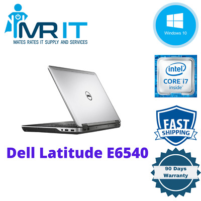 Dell Latitude E6540, Intel Core i7-4610M @ 3.00GHz, 256GB SSD, 8GB Ram, Win10