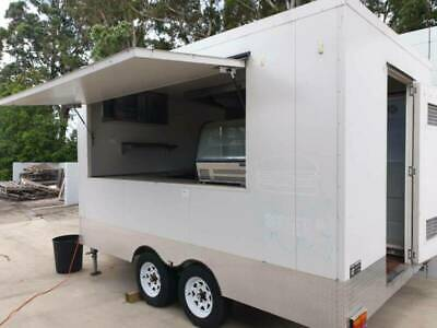 Custom Food Trailer with Fitout Dual Axle 5500 x 2500mm