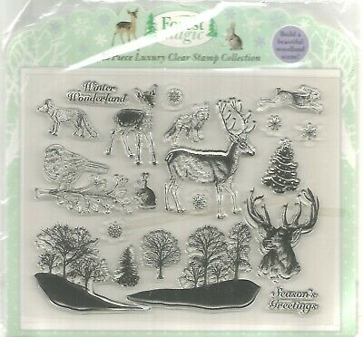 Forest Magic Stamp Collection.