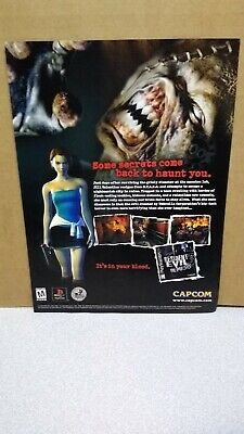 Nemesis Remake Game Poster Wall Art 11x17 13x19 Resident Evil 3 NEW