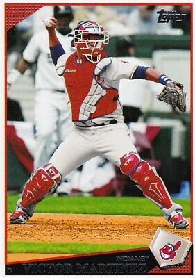 2009 Topps Victor Martinez C  Cleveland Indians
