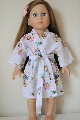 "Fits American Girl Dolls Our Generation Dolls 18"" Doll Clothes Robe"