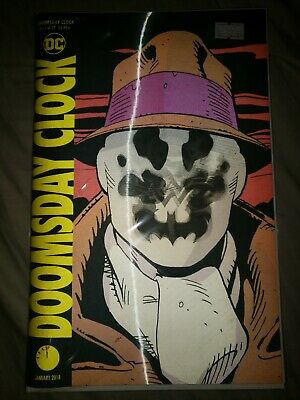 Doomsday Clock #1 Lenticular Variant Watchmen Dc Comics Near Mint 11/22/17
