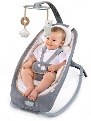Ingenuity - Boutique Collection - Rocking/Bouncer Seat - Style/Bella Teddy