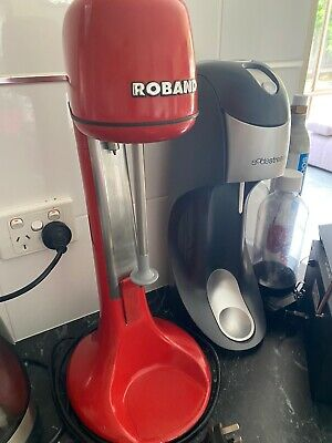 Roband 2 Speed Milkshake Maker & Drink Mixer in Red