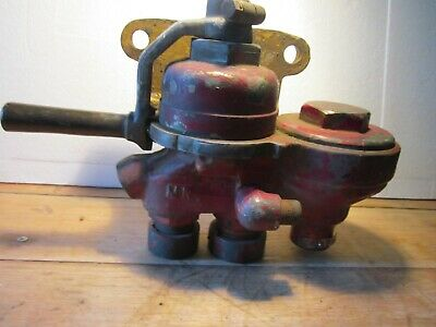 Genuine original 19th century No 18 Solid Brass Westinghouse Drivers Brake Valve
