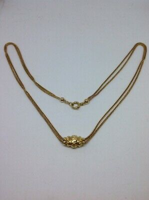 Chaine Collier Coulisseau Or 18ct