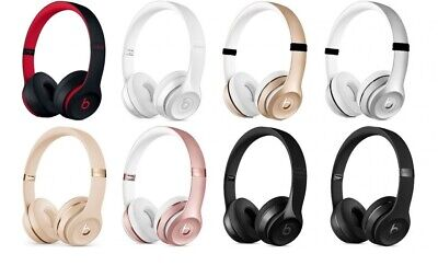 Beats Solo3 Wireless On-Ear Headphones - Various Colours *REFURBISHED*
