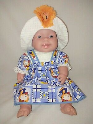 "BERENGUER Soft Body Baby Doll Blue Eyes 39cm/15"" Exc Cond"
