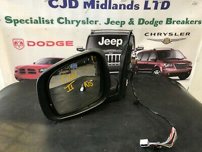 2009 CHRYSLER GRAND VOYAGER  passenger side electric wing mirror in Chrome LH