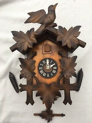 Beautiful Cuckoo Clock (Full Working Order)