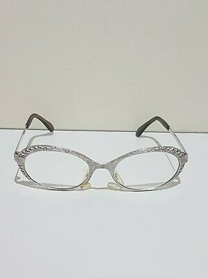 Vintage Spectacles Glasses Starset Mod 77 Silver Frame. Made in West Germany