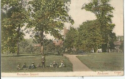 Andover Hampshire Recreation Ground Old Local Published Postcard
