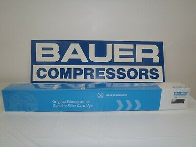 Bauer Compressors Genuine Cartridges 058825/058827 Set for P5 Purification Syst.