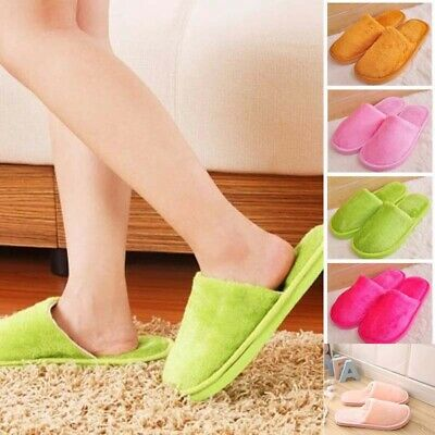 House Slippers Anti-slip Home  colors Indoor Warm Sandal 9 Cotton Soft Shoes