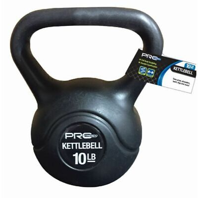 5/10 Lbs Vinyl Coated Kettlebell Weight Strength Training *Can use like Dumbbell