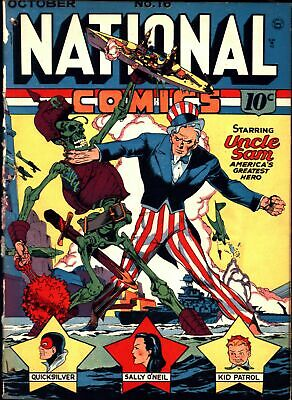 National Comics #16 Golden Age Quality 1.0