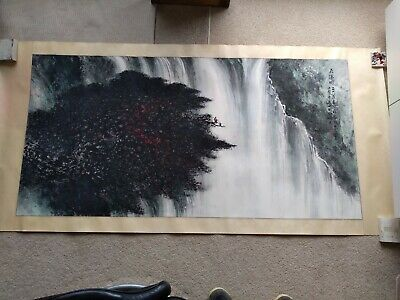 Vintage Chinese Painting - large beautiful work and excellent condition