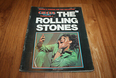 CIRCUS 1975 magazine The Rolling Stones pinups Mick Jagger