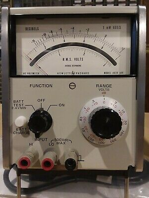 HP Agilent 403B AC Voltmeter #2 New Calibration, Audio, Ham Radio