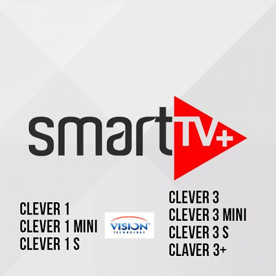 Smart+ clever 3 et 4 12MOIS  HD,SD,VOD,SERIES,CHAINES