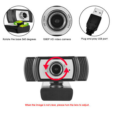 Digital USB Web Cam Camera HD 1080P Video Calling Teleconference Camera Hot