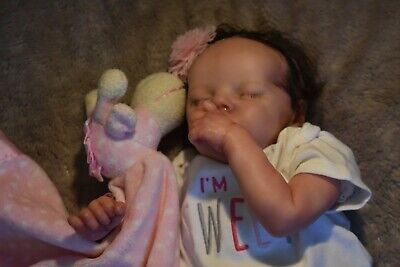 Reborn Baby Girl TWIN A 17 inches