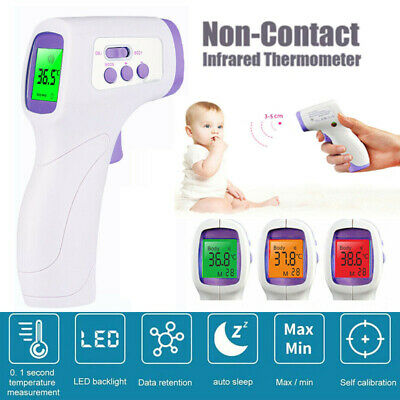 Digital Infrared Thermometer No-contact Forehead Body Measuring Temperature Gun