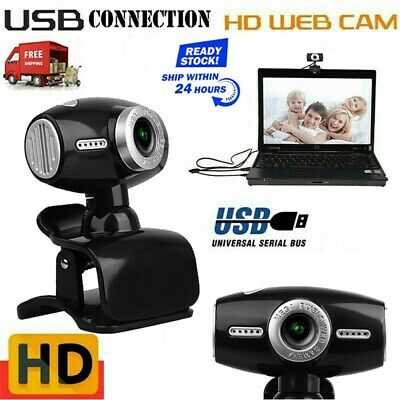 Digital USB Web Cam Camera HD 360° Video Calling Teleconference Camera For PC