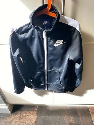 Girls Nike Tracksuit Jacket Age 10/12 Very Good Condition Black