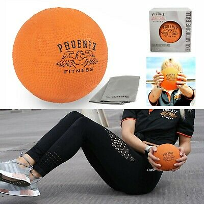 Medicine Ball Home Gym Fitness Core Ab Workout Textured Slam Ball 3KG Small
