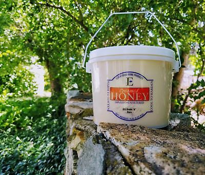 100% Pure Honey - Creamed!!! Raw and Unfiltered - Real Natural Honey