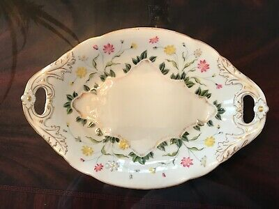 Antique porcelain plate.Maybe it used to belong to Emperess Josephine Buonaparte