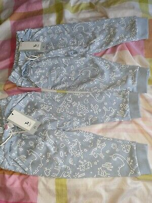Twin Girls Joggers Brand New Age 1-1 1/2 Years