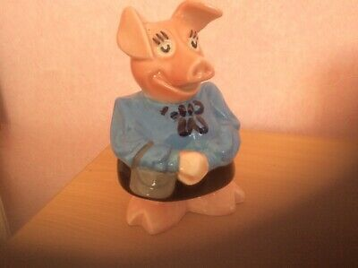 Wade Natwest Pig Lady Hilary Mother Money Box Nat West Piggy Bank with Stopper