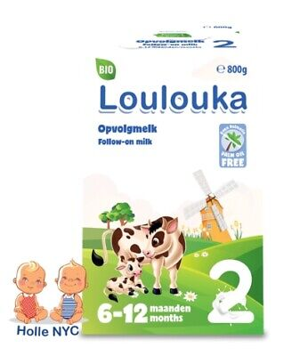 Loulouka stage 2 Organic Infant milk 800g Free Expedited Shipping