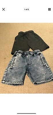 2 Pairs Of Boys Next Shorts Age 6 Years