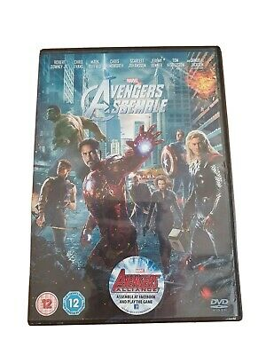 Avengers Assemble DVD (2012) Robert Downey Jr, Chris Hemsworth, Chris Evens