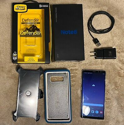 Samsung Galaxy Note8 SM-N950U - 64GB - Orchid Gray (Verizon) Smartphone Unlocked