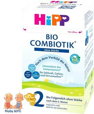 HiPP Stage 2 No Starch Bio Combiotic Infant Formula 600g Free Shipping
