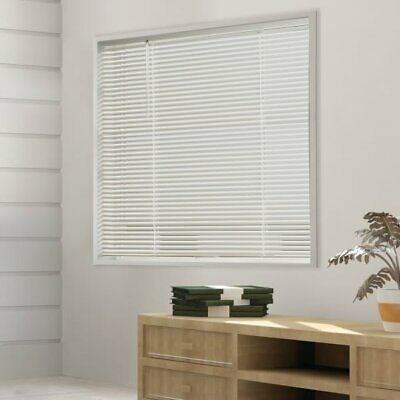 Champion TruTouch 59x60 Cordless 1 Deluxe Vinyl Mini Blind Alabaster