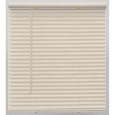 Champion TruTouch 46x64 Cordless 1 Vinyl Mini Blind Alabaster