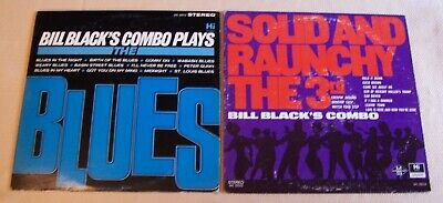 2-Lp-Lot_R&B Funk_Bill Black's Combo_Plays The Blues & Solid And Raunchy The 3Rd
