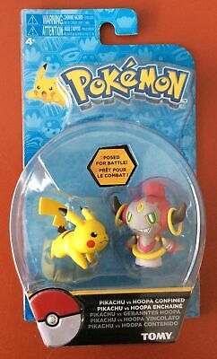 Pokemon Pikachu vs Hoopa figures  tomy new boxed