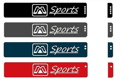 M-Sports Resistance Exercise Loop Bands Home Gym Fitness Natural Latex set of 4