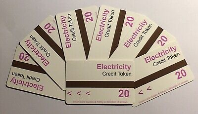 £100 Ampy Electricity Token Credit For £7.50 - Security Code A