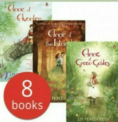 Complete Anne of Green Gables Collection - 8 Books Set by LM Montgomery