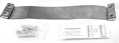 """Seal Master Exhaust Flat Band Clamp for 5"""" Stack Stainless Steel #66-500 Each"""