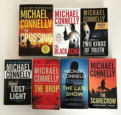 MICHAEL CONNELLY 7 book lot Mystery Thriller Suspense Paperback TPB/Mass Market